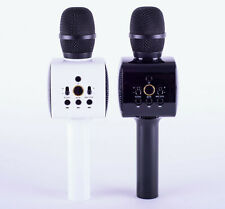 TWIN KARAOKE BLUETOOTH HANDHELD PAIRING MICROPHONES WITH LED LIGHTS