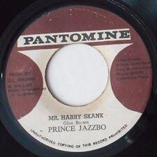 """DUB MR HARRY SKANK - PRINCE JAZZBO - TELAVID DRUMS JA PANTOMINE 7"""" GLEN BROWN"""