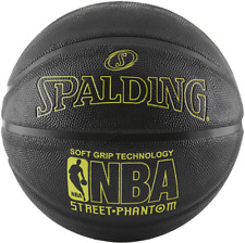 Spalding NBA Basketball Street Outdoor Black Official Game Ball Size 7 29.5 in