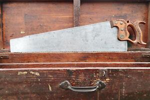 STICKY SHARP 24 inch Carpentry Workhorse Hardware Store Etch Handsaw 6 PT RIP