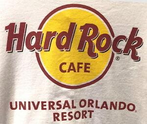 New Hard Rock Cafe UNIVERSAL ORLANDO RESORT Classic HRC Logo Tee T-Shirt XS-3X!