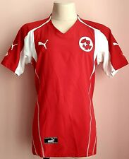 Switzerland 2004 - 2006 Home football Puma shirt