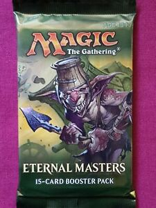 Magic The Gathering ETERNAL MASTERS New Sealed Booster Pack MTG
