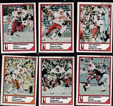 1984 Jogo CFL #68 ROY DEWALT BC LIONS QB TEXAS