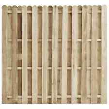 vidaXL Madera de Pino Impregnada Panel de Valla de Jardín 180x170cm Cercado