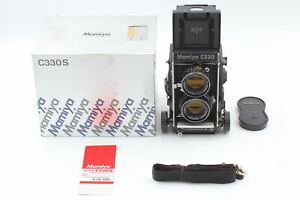 [MINT in BOX + Blue Dot Lens] Mamiya C330 Pro S Late TLR + Sekor DS 105mm f/3.5