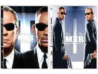 Men In Black I, II - Blu-ray Steelbook Lenticular Edition / Pick 1 or 2
