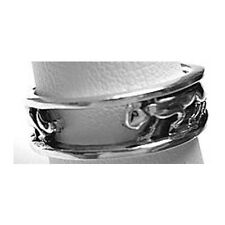 Genuine 925 Sterling Silver Jaguar Ring band Jewelry Panther Cougar on the prowl