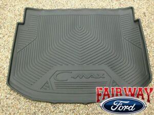 13 thru 18 C-Max OEM Ford Parts Black Cargo Area Protector Mat Liner -NON Energi