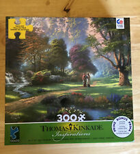 NEW Thomas Kinkade 300 Pc Jigsaw Puzzle WALK OF FAITH 2018