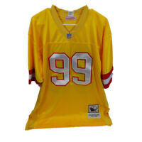 Warren Sapp #99 Jersey Mitchell & Ness Throwback NFL Tampa Bay Bucs Size 50