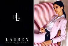 2004 Ralph Lauren Zoya Todorevic pretty in pink fashion MAGAZINE AD