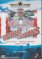 Dvd LA COLAZIONE DEI CAMPIONI •BREAKFAST OF CHAMPIONS Slimcase con B.Willis 1999