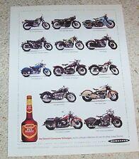 1993 ad page -DeKuyper Hot Damn cinnamon Schnapps - motorcycles vintage PRINT AD