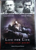 Life For Life Maximilian Kolbe A Franciscan Priest Auschwitz 1941 Brand NEW DVD