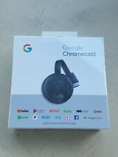 Google Chromecast 3rd Gen Digital HDMI Media Streaming (NEWEST VERSION) NEW