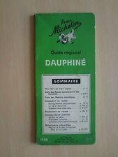 Guide régional vert Michelin 1939 : Dauphiné