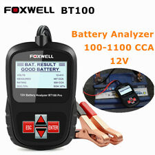 Battery Tester 12V Auto Digital Car Battery Analyzer Load Tester 100-1100 CCA