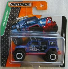 Matchbox Diecast MBX Explorers 2015 Jeep Wrangler Superlift New & Carded