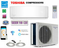 Energy Star Ductless Mini Split Air Conditioner HEAT Pump : 18-25 SEER
