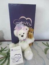 Annette Funicello Piggy Bear Ride, Set of 2 Bears-with CoA & Box-#1160/3000-Euc