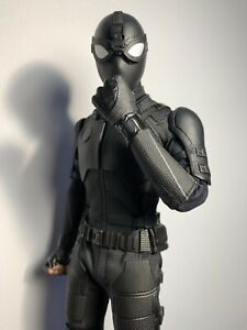 Hot Toys Spiderman Stealth Suit. loose no box. In Mint condition