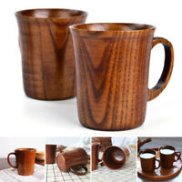 1 PC Solid Jujube Mug Wooden Coffee Beer Mugs Wood Cup Handmade Tea Cup