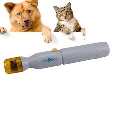 Pet Dog Cat Pedi Paws Claw Electric Nail Care Trimmer Clipper Grooming Nail File