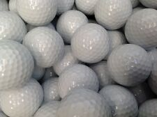150 x  VALUE GOLF BALLS REFINISHED BUT NOT PRINTED PLAIN BALLS GOOD FOR TRAINING
