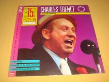 2 LP / CHARLES TRENET / DOUCE FRANCE / COMPILATION EMI 2516071 NEUF SCELLÉ 1988