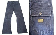G-STAR RAW GUC Short Length Button-Fly ~Shortcut Comwood ~Boot Cut  27 x 28