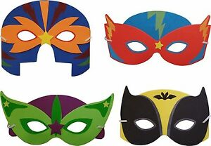Soft Foam Superhero Mask (6 Supplied)