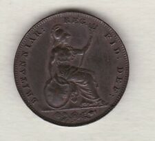 More details for 1853 victoria farthing in extremely fine condition.