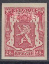 timbre Belgique lion non dentelé neufs *