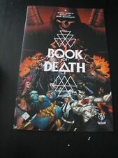 BOOK OF DEATH #1 ULTRA COVER SAMPLE, VALIANT, RARE, NEVER STAPLED
