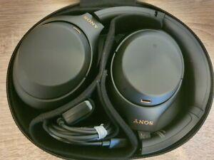 NEW BOXED SONY WH-1000XM4 WIRELESS NOISE-CANCELING HEADPHONES, BLACK
