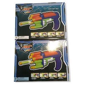 Air Force Quick Fire Toy Soft Dart Gun 2 Pack Outdoor Indoor Play Kids