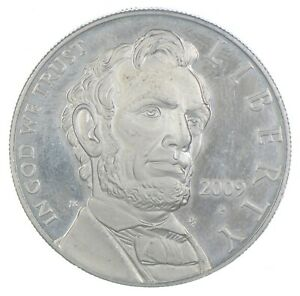 Proof 2009-P Lincoln Bicentennial Commemorative US Dollar 90% Silver *358