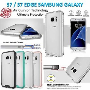 Samsung S7 Case S7 Edge Cover Air Slim Clear Hard Transparent Shockproof Galaxy
