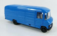 MB Mercedes-Benz 508 D Transporter lang blau Herpa 1:87 H0 ohne OVP [K10-1-B8]