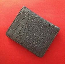 Forever 21 snake texture navy bifold wallet