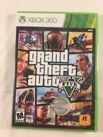 Grand Theft Auto V Five (Microsoft Xbox 360) Brand New Sealed Free Shipping!!!