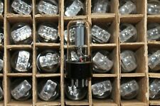4pcs. 6N8S / 6SN7 / 1578 TUBES Double Triode NOS NEVZ USSR SAME DATES 1970`s