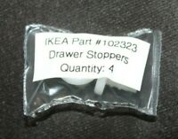 Lot of 2 Genuine IKEA Ikea Plastic Screw Stops #102323