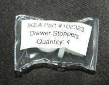 Lot of 2 Genuine IKEA Ikea Plastic Screw Stops #102323