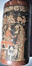"New ListingSale! Pre Columbian Mayan Vase, glyphs 7"" Prov"