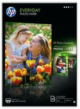 HP Everyday Glossy Photo Paper, A4, 210 x 297 mm, 200 gm2, 25 Sheets