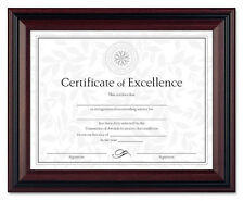 Document Diploma Certificate Rosewood Frame 8 1/2 x 11