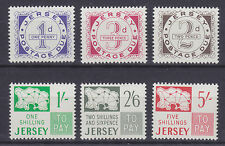 Jersey Sc J1-J6 Mlh. 1969 Postage Dues cplt Vf