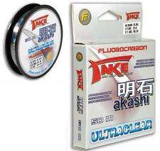 Lineaeffe Take Akashi Fluorocarbon UltraClear 50m 0 25mm
